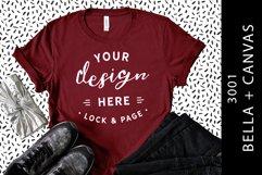 T-Shirt Mockup Bella Canvas 3001 Fashion Blog Style Bundle Product Image 6