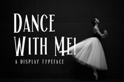 Web Font Dance With Me! Product Image 1