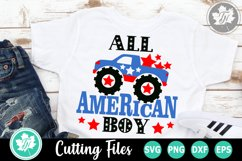 All American Boy - An Americana SVG Cut File Product Image 1