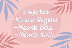 Meanie a Fun Hand Written Font Product Image 3