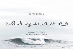 Skywave Typeface Product Image 1