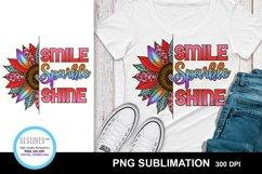 Sunflower Sublimation Designs MiniBundle with Leopard Print Product Image 2