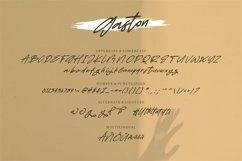 Web Font Gaston - Beauty & Stylish Script Font Product Image 4