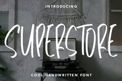 Superstore - Cool Handwritten Font Product Image 1