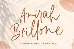 Signature Font - Amirah Brillone Product Image 1