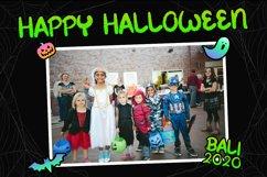 Spooky Green - Handwritten Halloween Font Product Image 5