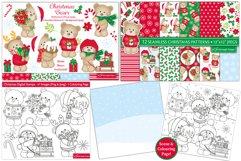 Christmas bundle, Christmas clipart graphics & illustrations Product Image 2