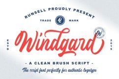 Windgard | Clean Brush Script Product Image 1