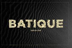 Batique - Indonesia Display Font Product Image 1