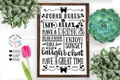 Home and Summer Rules Cut Files and Sublimation Bundle Product Image 9