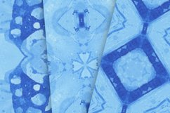 14 Seamless Ocean Blue Watercolor Patterns Product Image 3