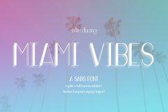 Miami Vibes Art Deco Sans Font Product Image 1