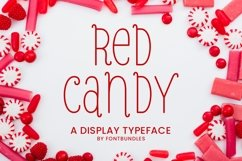 Web Font Red Candy Product Image 1