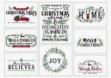 !! HUGE !! Christmas Sign Making Bundle Product Image 3