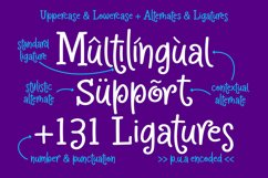 Crapty - a Playful Font with Cute Alternates & Ligatures Product Image 8