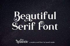 The Atlantic//Modern Serif Font Product Image 6