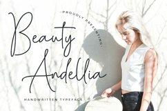 Beauty Andellia - Handwritten Typeface Product Image 1