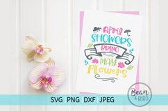 April Showers Spring Cut File Product Image 2