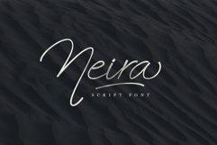 Neira script font Product Image 1