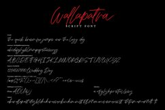 Wallapatra | Drybrush Handwriting Script Font Product Image 2