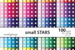 Small seamless stars digital background Product Image 1