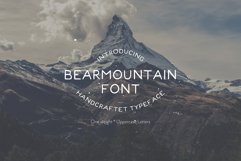 Bearmountain - Handmade Font Product Image 1