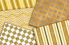 Gold Digital Paper Pack Product Image 2
