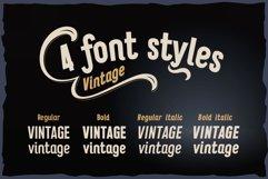 Vitage - elegant sans serif OTF font Product Image 2