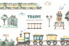 Transport bundle. Watercolor Product Image 18