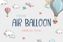 Air Balloon Font Product Image 1