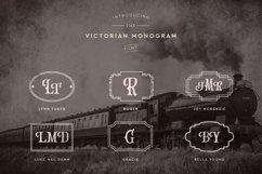 Victorian Monogram Font Product Image 2