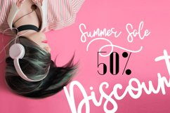 JustBecause font family Product Image 4