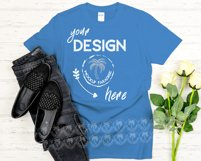 Gildan 64000 Mockup Bundle - Gildan Softstyle T-shirts Product Image 6