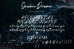 Ocean Dream   Brush Script Font Product Image 6