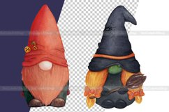 Watercolor gnome christmas png clipart. Holiday gnome Product Image 5