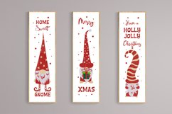 Christmas gnomes porch signs. Svg cutting files bundle. Product Image 2