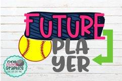 future softball player svg,softball svgs,softball Product Image 1