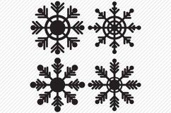Snowflake Bundle SVG, Cut File, Christmas Shirt Designs Product Image 3