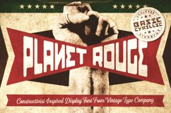 Planet Rouge Display Font Product Image 1