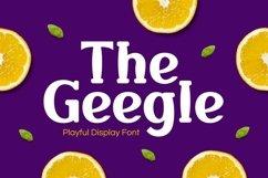 Web Font Geegle Product Image 1