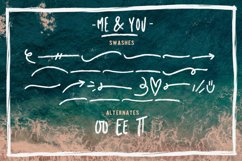 Me & you - dry marker font and extras! Product Image 3