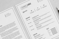 Thanos Resume with Cover Letter Professional Template Product Image 4