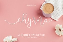 Web Font Chyrna Product Image 1