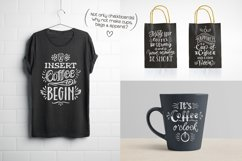 Coffee Chalk Letterings Product Image 6