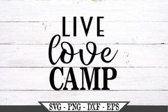 Live Love Camp SVG Product Image 2