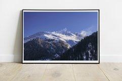 Snow Mountains - Wall Art - Digital Print Product Image 2