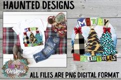 Merry Christmas Tree Sublimation Bundle Clip Art Design Product Image 6