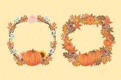 Autumn Flower Clip Art Product Image 6
