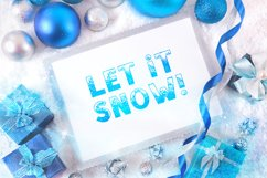 SNOW - Font Family for Christmas! Product Image 6