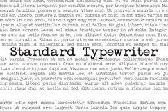 Standard Typewriter Product Image 1
